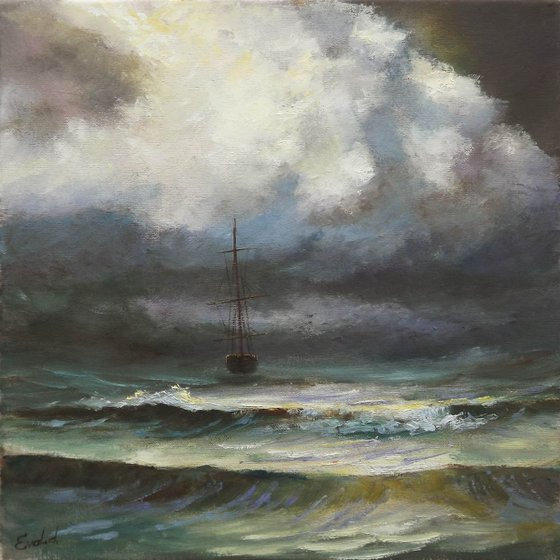 Boat in the Storm 3