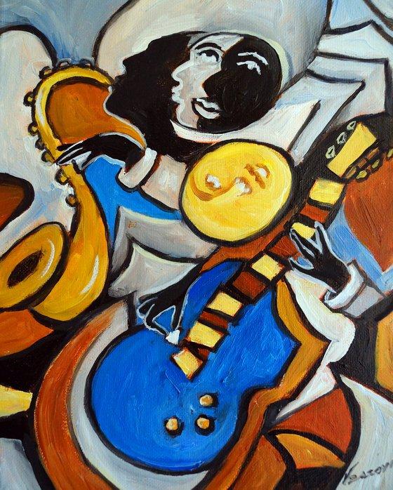Blue Guitar 3