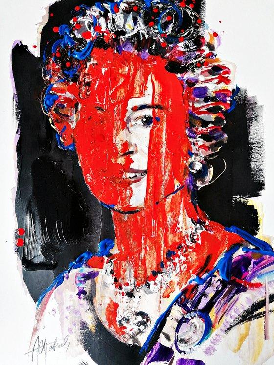 iyoung queen Elizabeth  interpretation