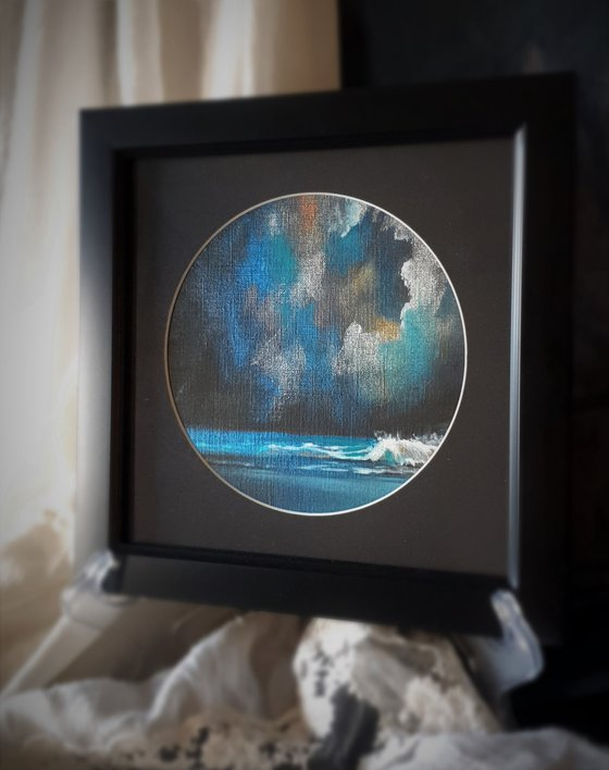 Harlequin Series - Temple Bay, abstract seascape