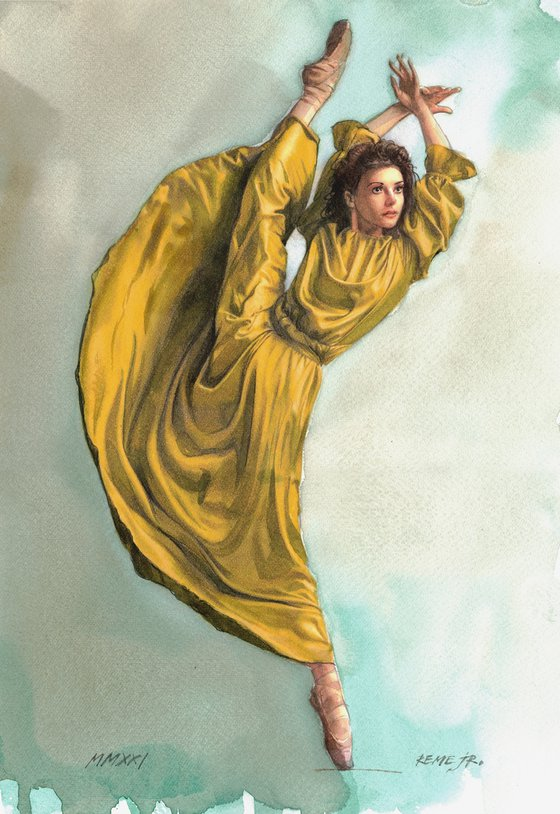 Ballet Dancer CLXXXV