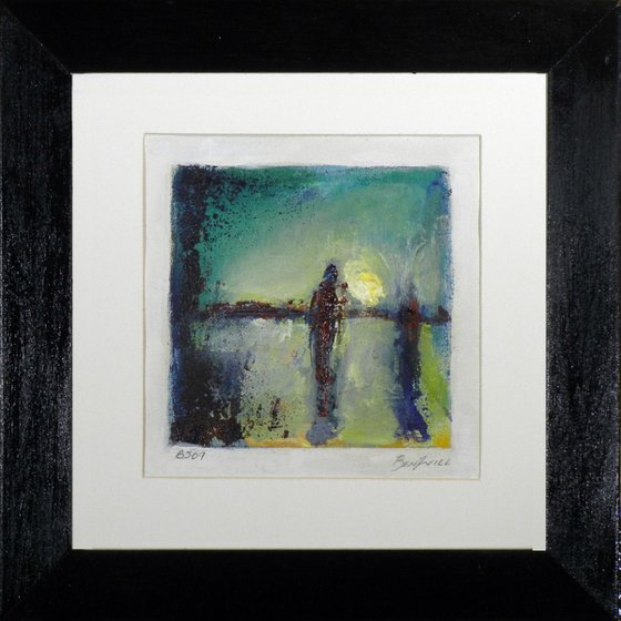 Framed Painting Abstract Fine Art BJ09 by BenWill