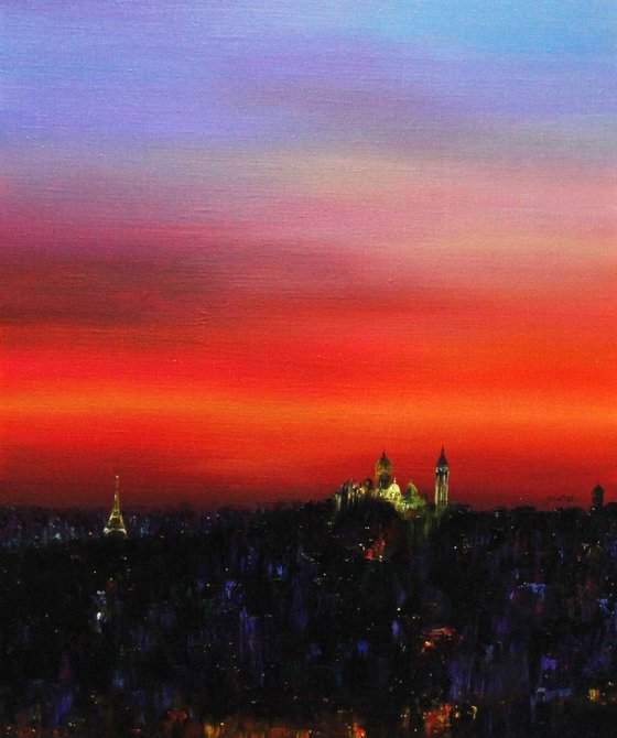 Paris - Colored with Light 2