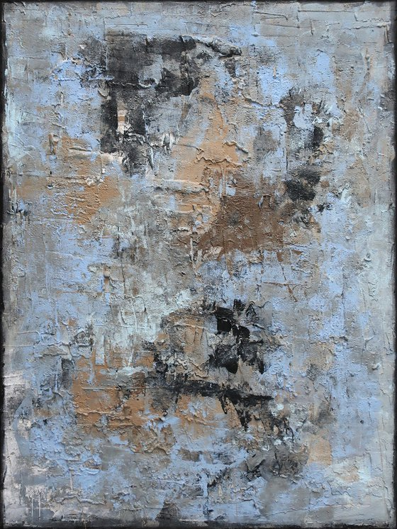 A171 (Contemporary abstract Spiritual Architecture Landscape Acrylic on canvas Large wall art Painting Series)