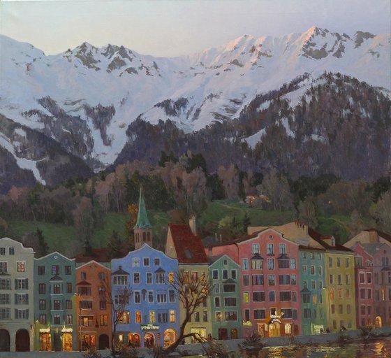 Alpine Town Lights