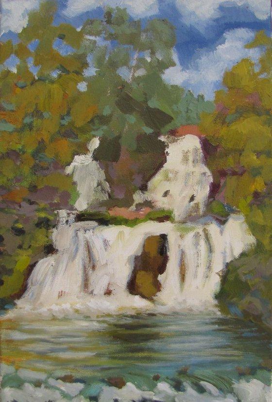 """""""Dzhurinsky waterfall"""""""