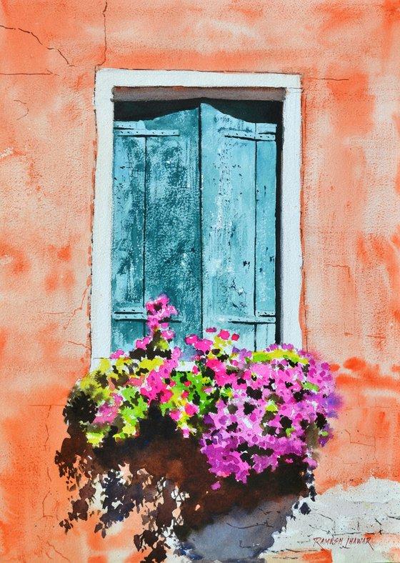 Venetian window