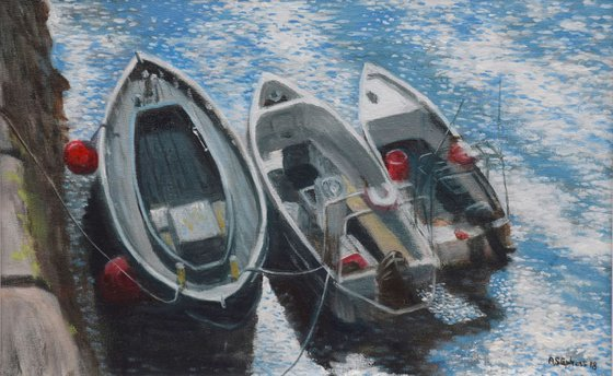 Boats in Crail