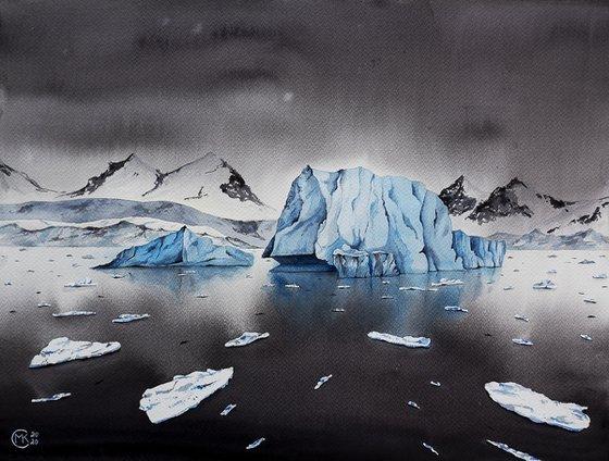 Voyageur de glace