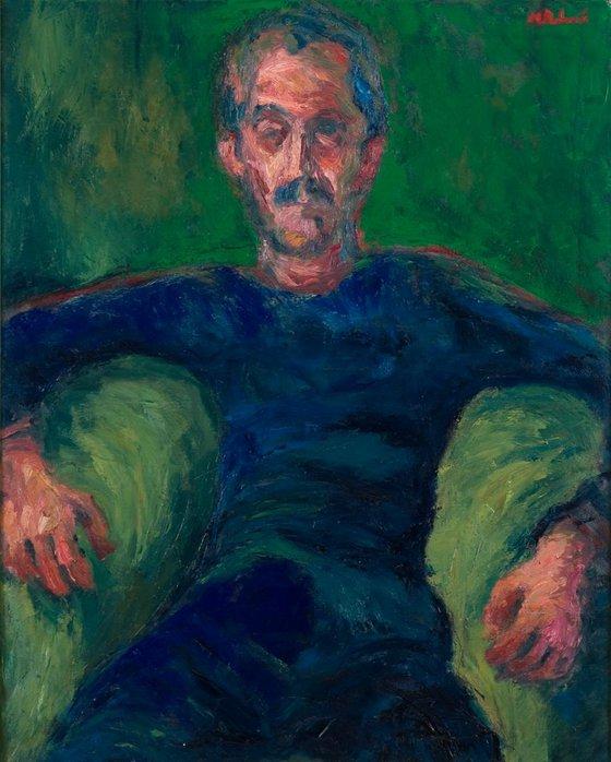 Portrait In Green