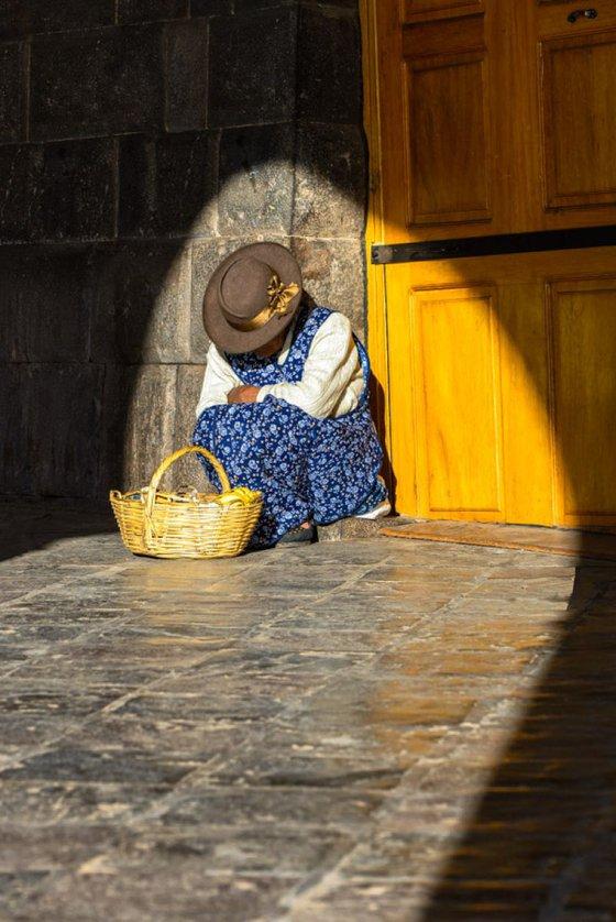 Cusco Street Seller (Peru)  - Limited Edition Print