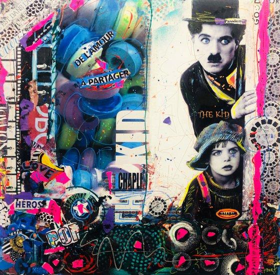 Pop Charlie Chaplin