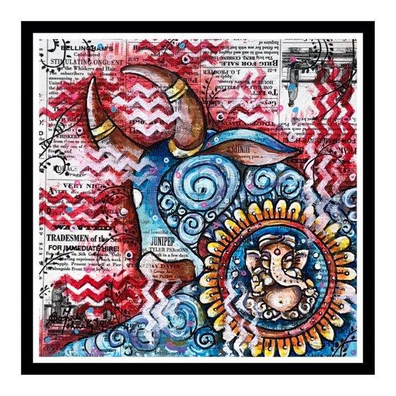 Nandi and Ganesha