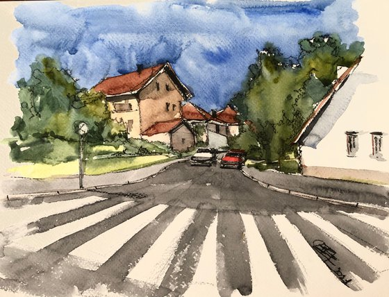 Town streets