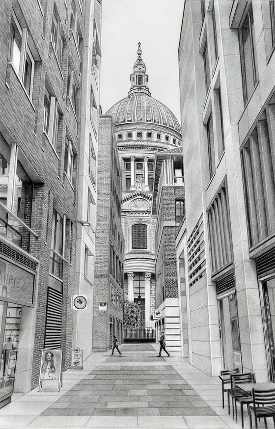 St Paul's Cathedral - Pencil Drawing