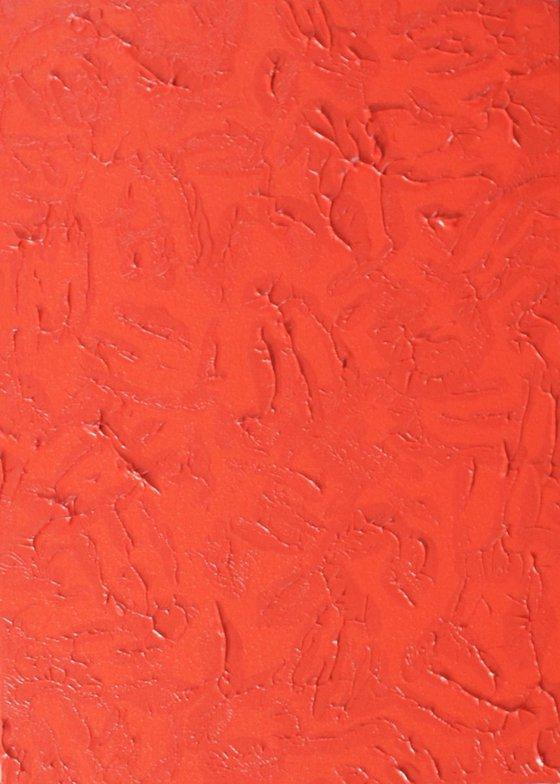 Bright Orange (50x70 cm)