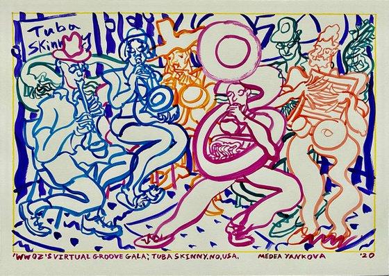 WWOZ's Virtual Groove Gala, TUBA SKINNY, NO, USA