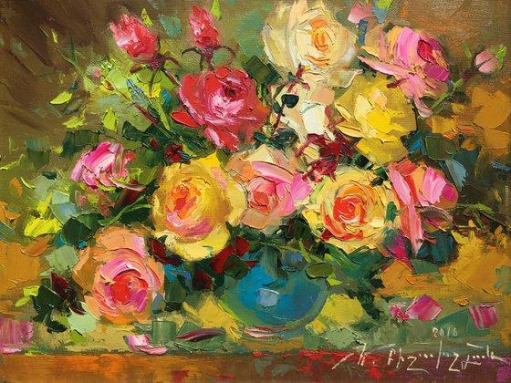 Roses (38x30 cm)
