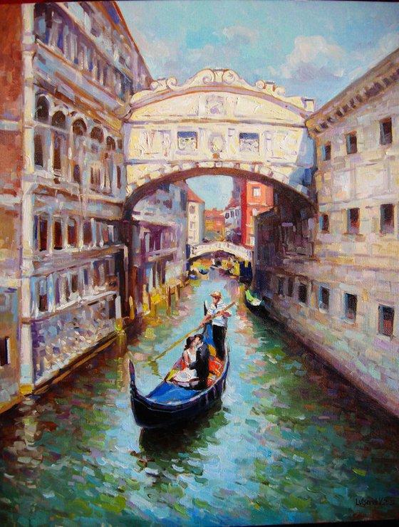 Venice. bridge of Sighs.