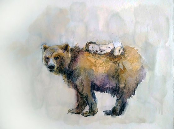 The Bear and the child