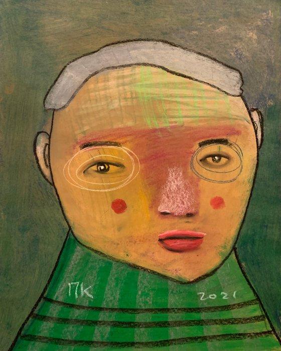 Serious portrait #95