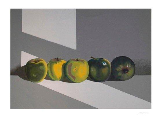 Grenn apples