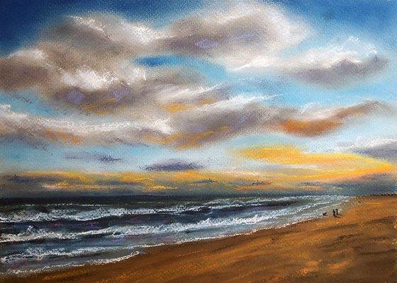 A walk at the beach