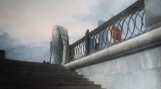 Москва набережная
