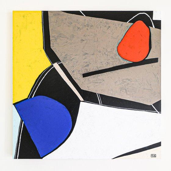 "Abstract Painting - Still-life M (Original, 40""x40""   101x101 cm)"