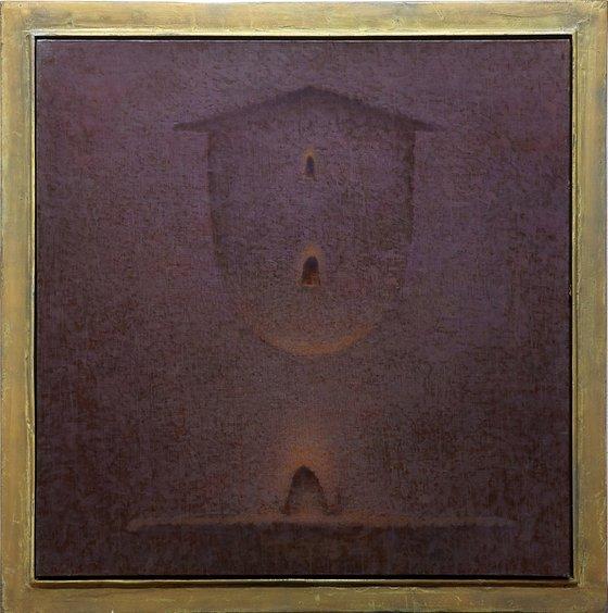 A Jesuit's Journey (116x116cm/46x46in)