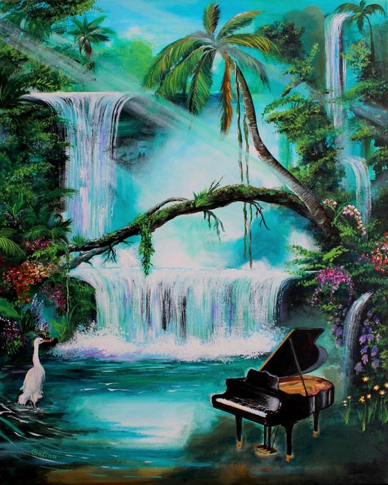 Tropical Bliss with Music