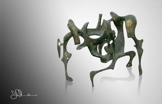 Cobra Pose Figure | Bronze Age Collection