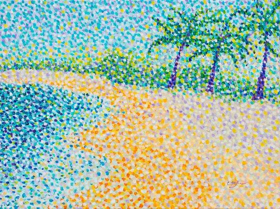 Tropical beach - Seascape