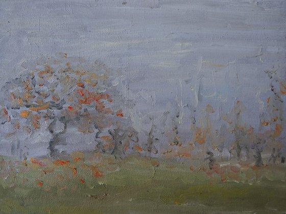 Painting | Oil | Fog