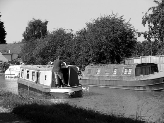 On the canal at Basingstoke