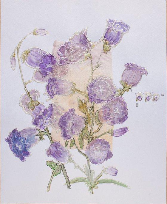 Mauve bellflowers