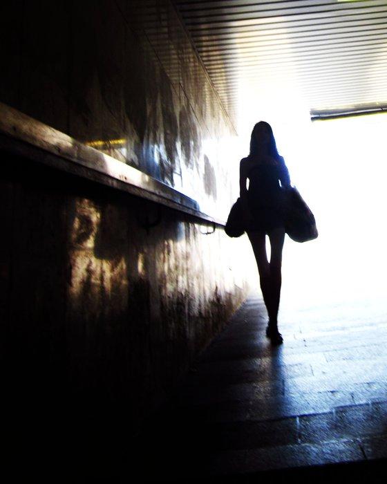 Urban Fairy, candid urban street view
