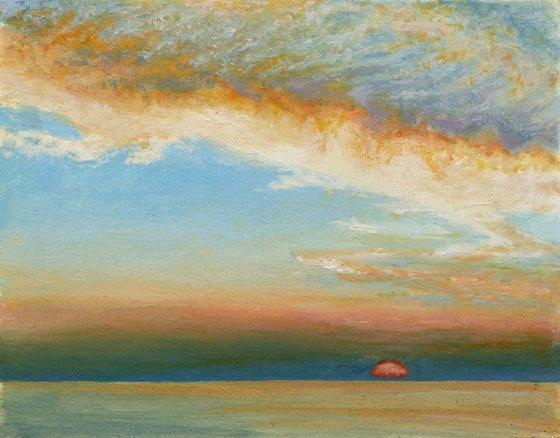 Cloud Swoop Sunset
