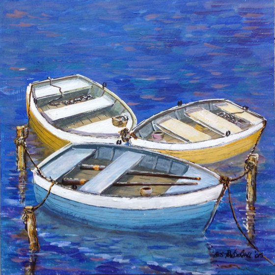 3 boats a waiting