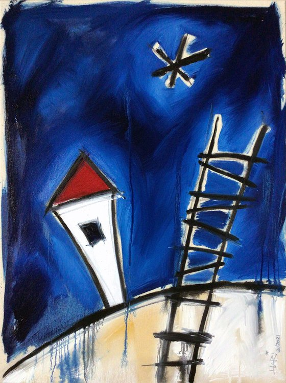 LADDER INTO THE NIGHT