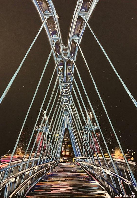 Millennium Footbridge - Salford Quays