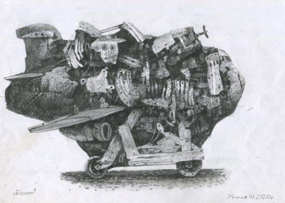 Самолёт -1(Боинг)