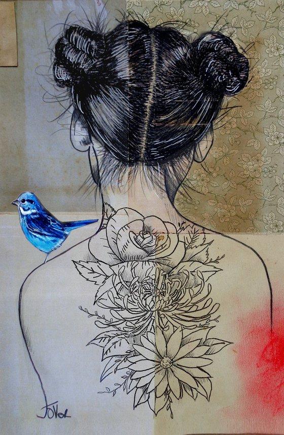 SHE LIKED FLOWERS