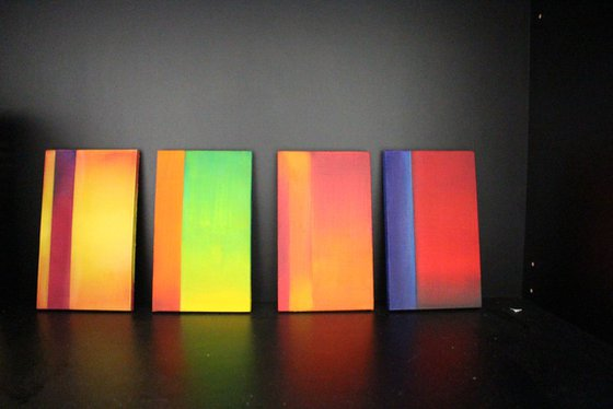 Mini Masterpieces 1/ Modern Minimal Abstract
