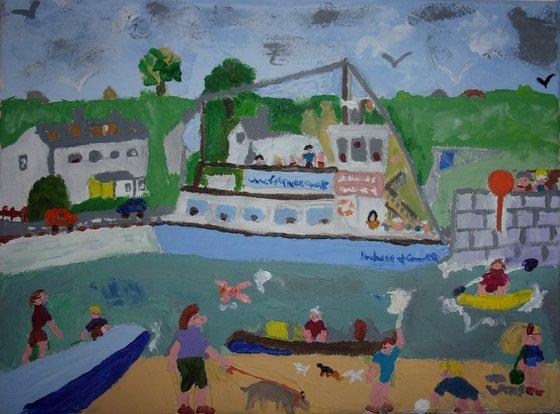 St Mawes Ferry, Cornwall