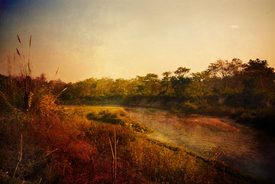 National park of Chitwan, Nepal