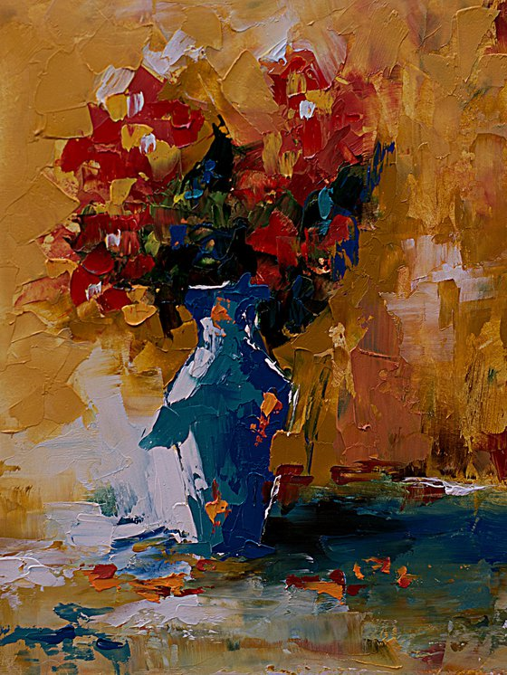 Small oil painting art
