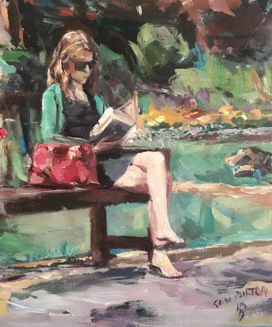 Reading in the Garden
