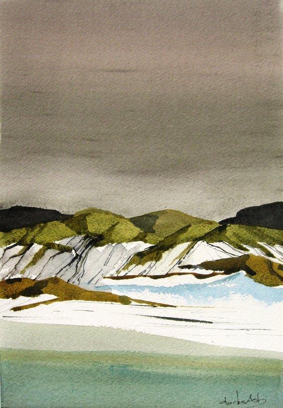 Rio Grande Twilight - Original Watercolor Painting
