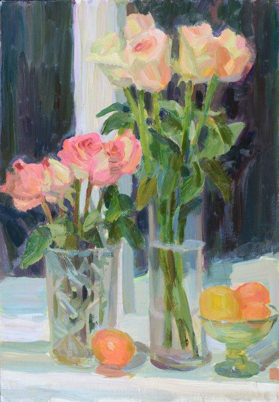 Roses and oranges